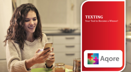 Aqore solves Texting for staffing